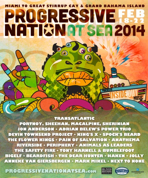 Progressive Nation at Sea 2014 Ad