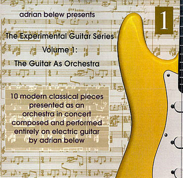 The Experimental Guitar Series Volume 1 cd cover