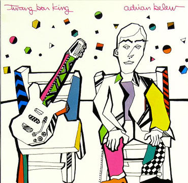 Twang Bar King Adrian Belew cd cover