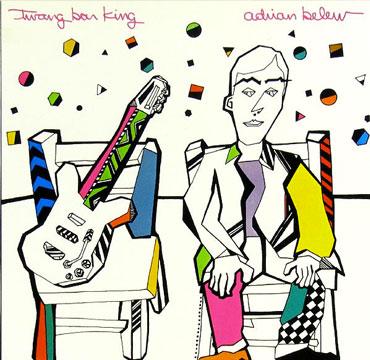 Twang Bar King Adrian Belew cd cover
