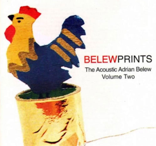 Belew Prints Volume 2 CD Cover