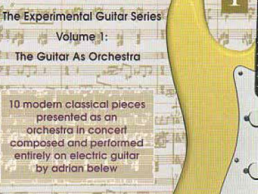 The Experimental Guitar Series Cd cover