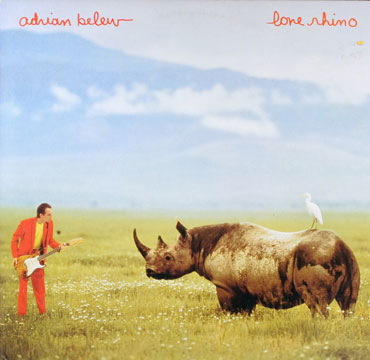 Lone Rhino Cd Cover