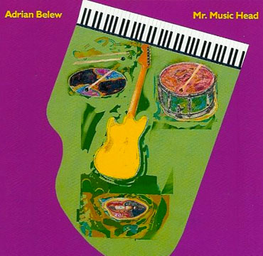 Adrian Belew Mr Music Head cd cover
