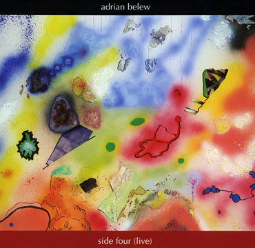 Adrian Belew Side Four (live) CD cover