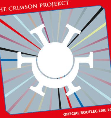 The Crimson Projekct Offical Bootleg Live 2012 CD Cover