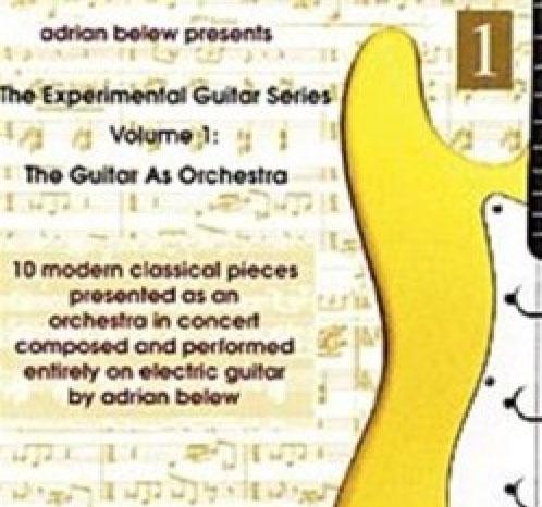 Adrian Belew Presents Experimental Guitar Series CD Cover