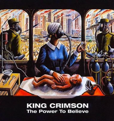 King Crimson The Power to Believe CD Cover
