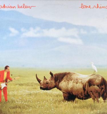 Adrian Belew Lone Rhino CD Cover