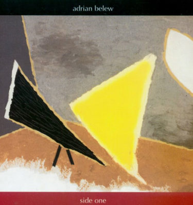 Adrian Belew Side One CD Cover